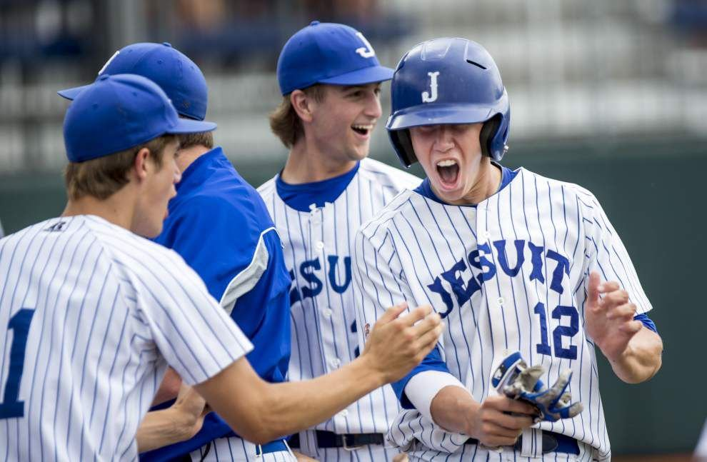Jesuit baseball state tourney bound _lowres