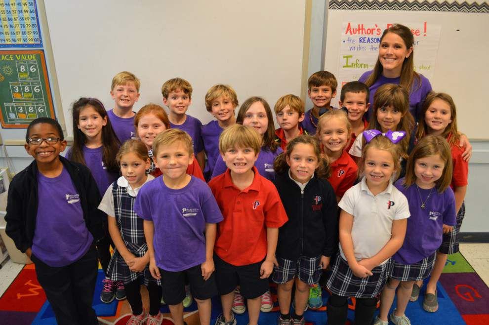 Classroom Spotlight: Parkview Baptist School second grade _lowres
