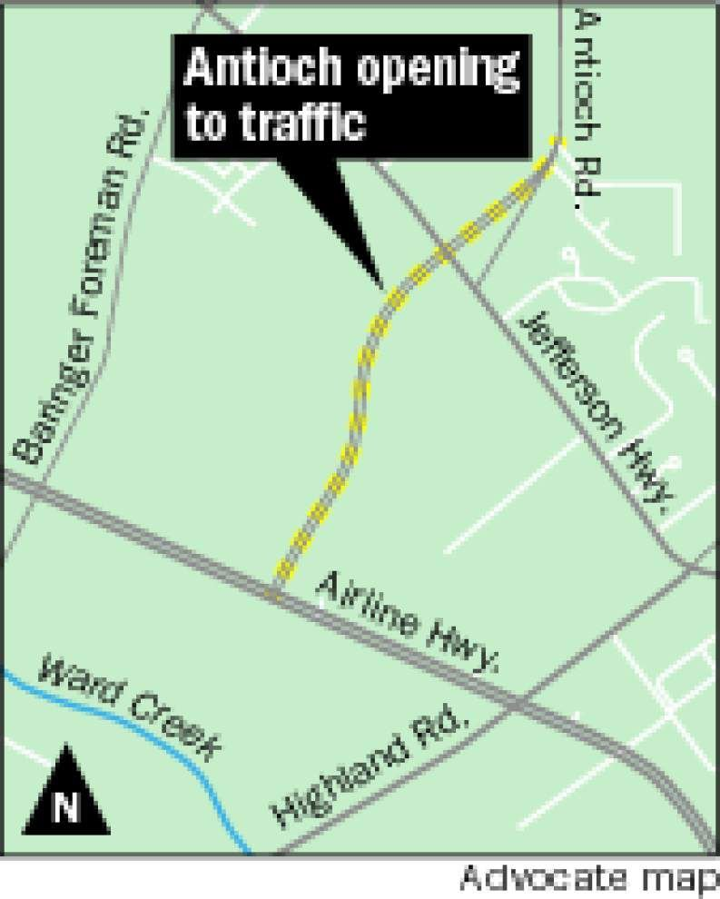 No more 'zig zag' driving from Tiger Bend to Airline highway when Antioch Extension opens Tuesday _lowres