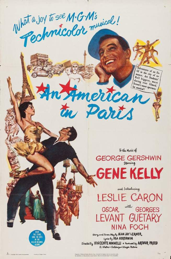 Prytania to screen 'An American in Paris' in tribute to victims of terrorist attacks _lowres