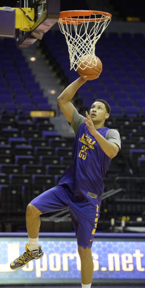 Rabalais: LSU's Ben Simmons holds center court at media day _lowres