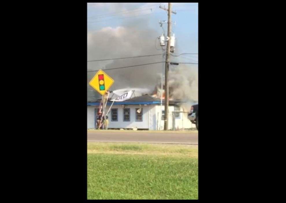 Video: Port Allen fire _lowres