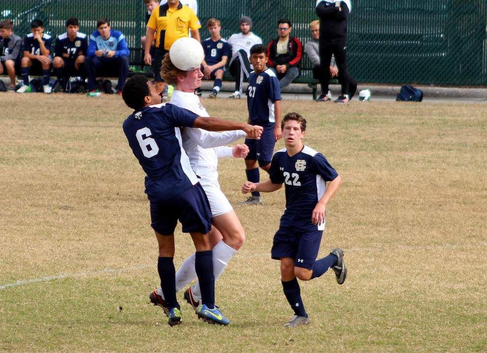 Holy Cross locks up district title after 2-2 draw against Ben Franklin _lowres