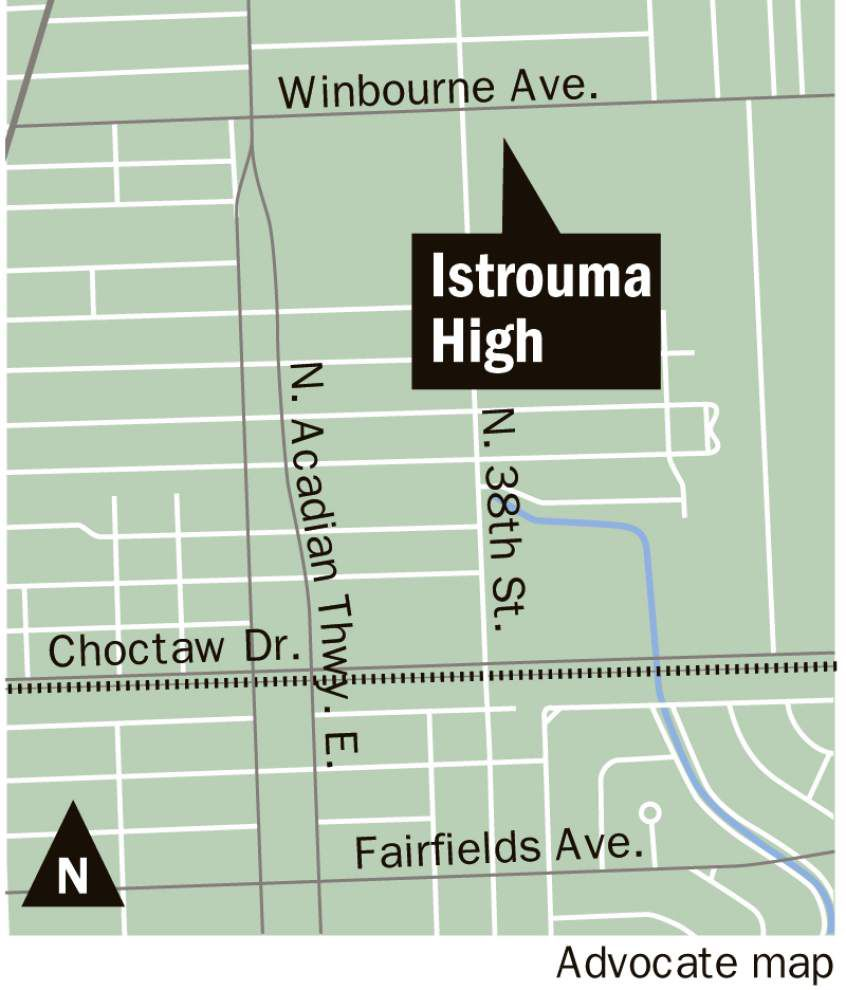 School officials discuss ways to restore prominence to Istrouma High _lowres