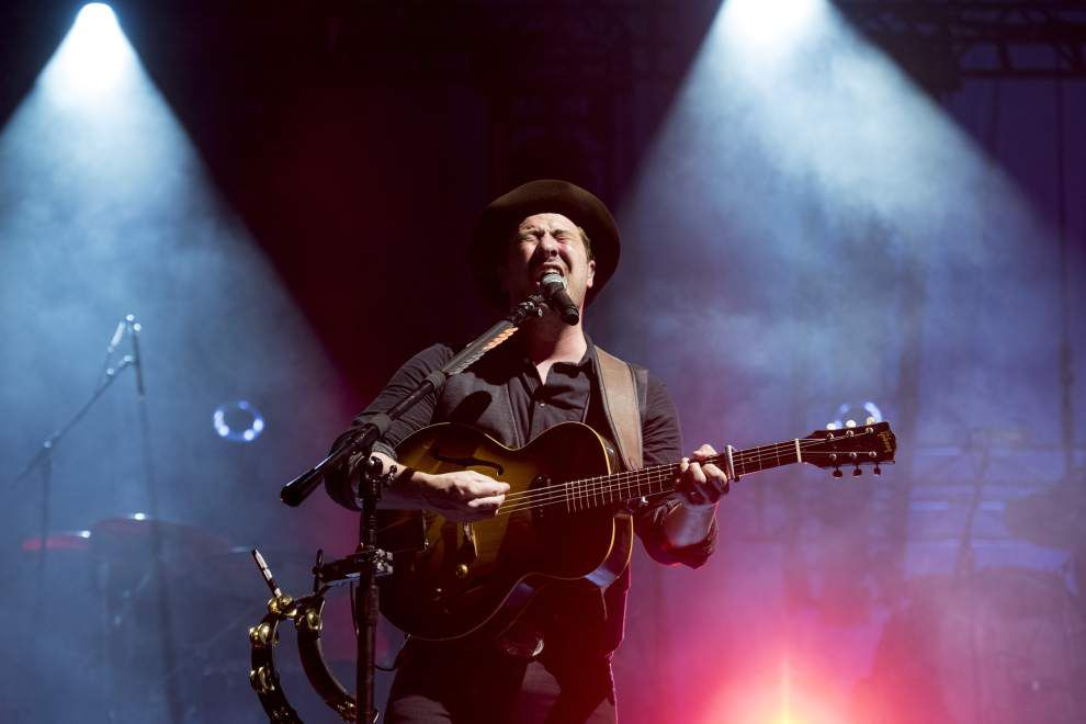 Mumford & Sons hit a home run during the first large-scale concert at Zephyr Field outside New Orleans _lowres