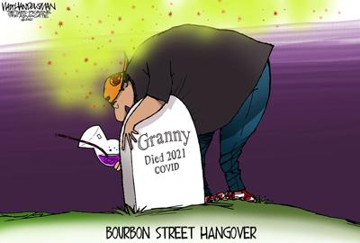 Walt Handelsman: Selfish Spreaders