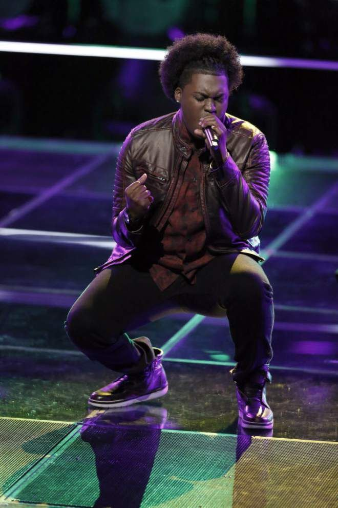 Five Louisiana contestants advance to next round in NBC's 'The Voice' _lowres
