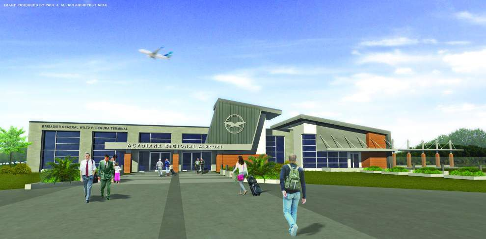 Acadiana Regional Airport leaders break ground for new passenger terminal, with flights possible by fall _lowres