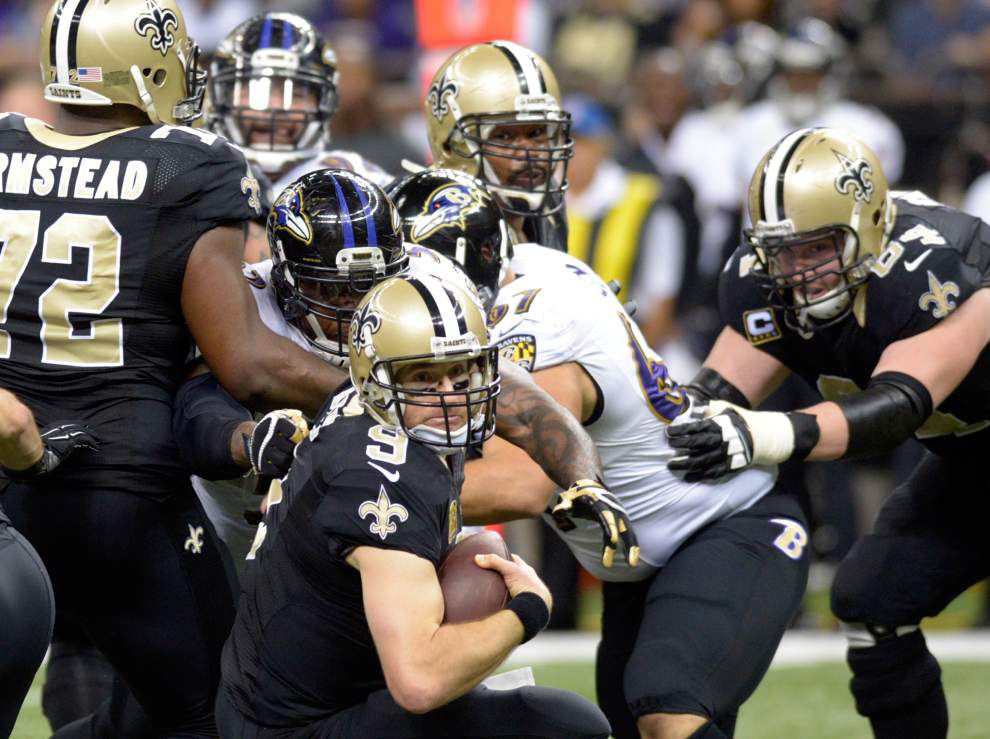 Saints announce preseason schedule, open at Baltimore _lowres