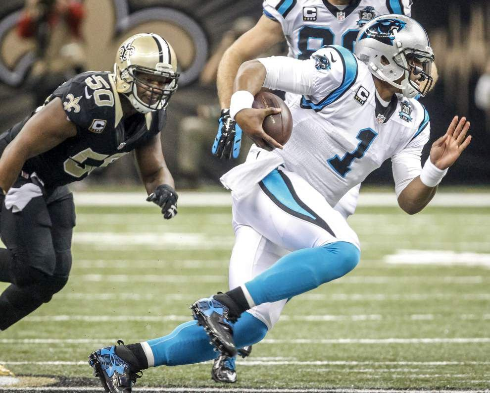 Hard to find positive grades in the Saints' loss to the Carolina Panthers _lowres