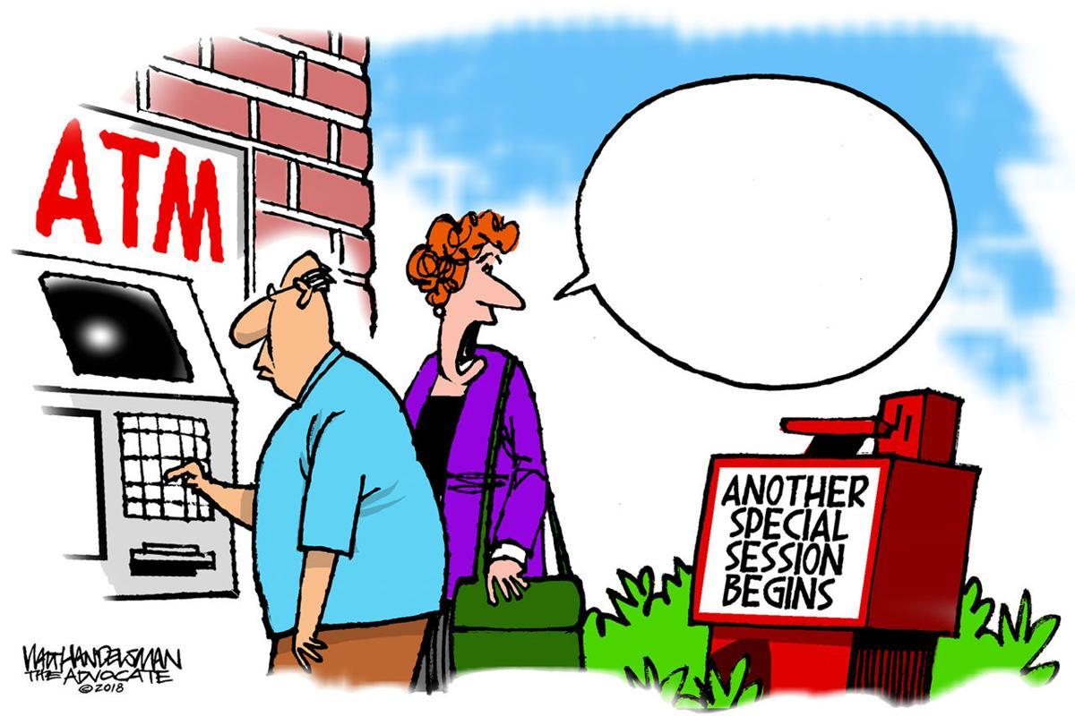 Walt Handelsman: New Caption Contest!