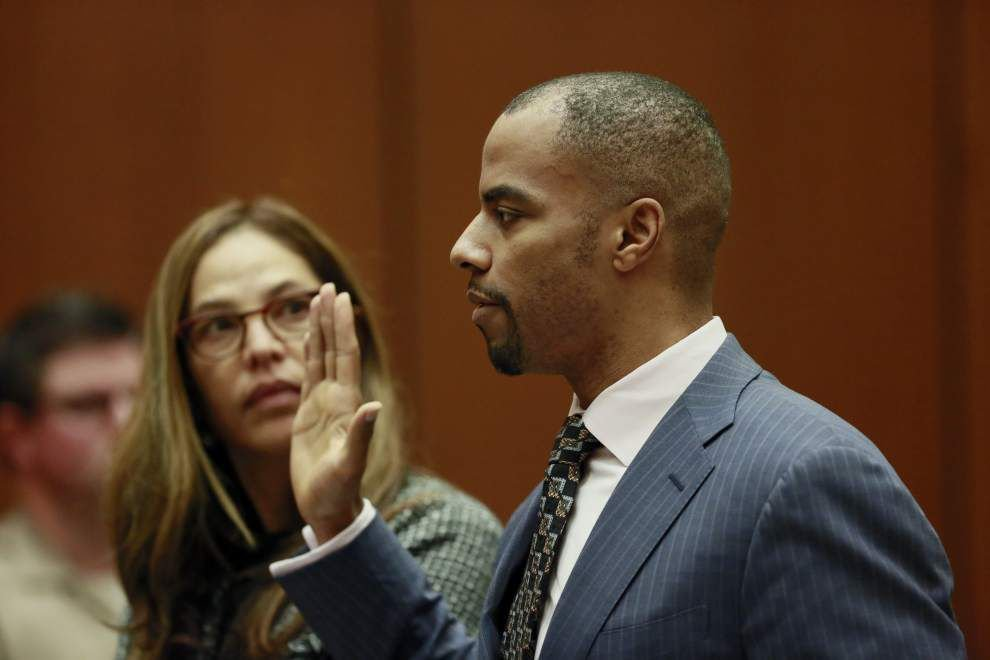 Darren Sharper to plead guilty in Las Vegas court Tuesday to attempted sex assault charge _lowres