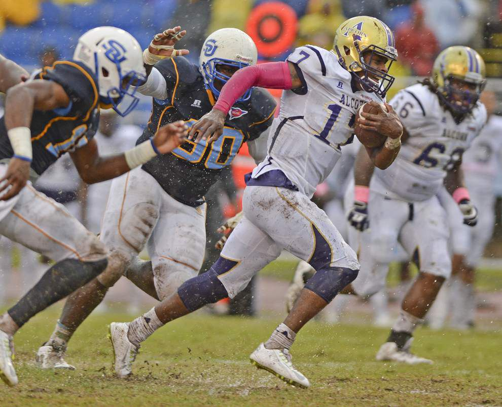 Alcorn State 48, Southern 7: Les East's three and out _lowres