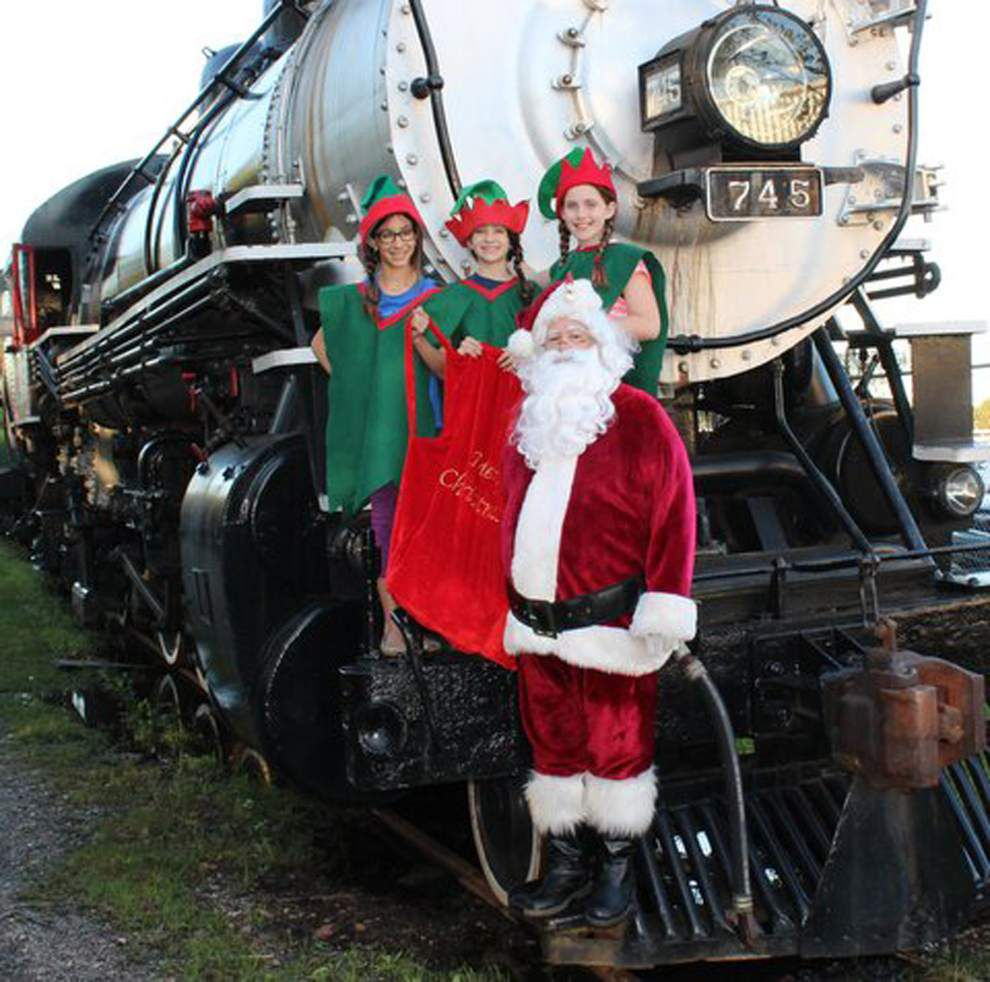 Louisiana Steam Train Association Christmas party is Saturday _lowres