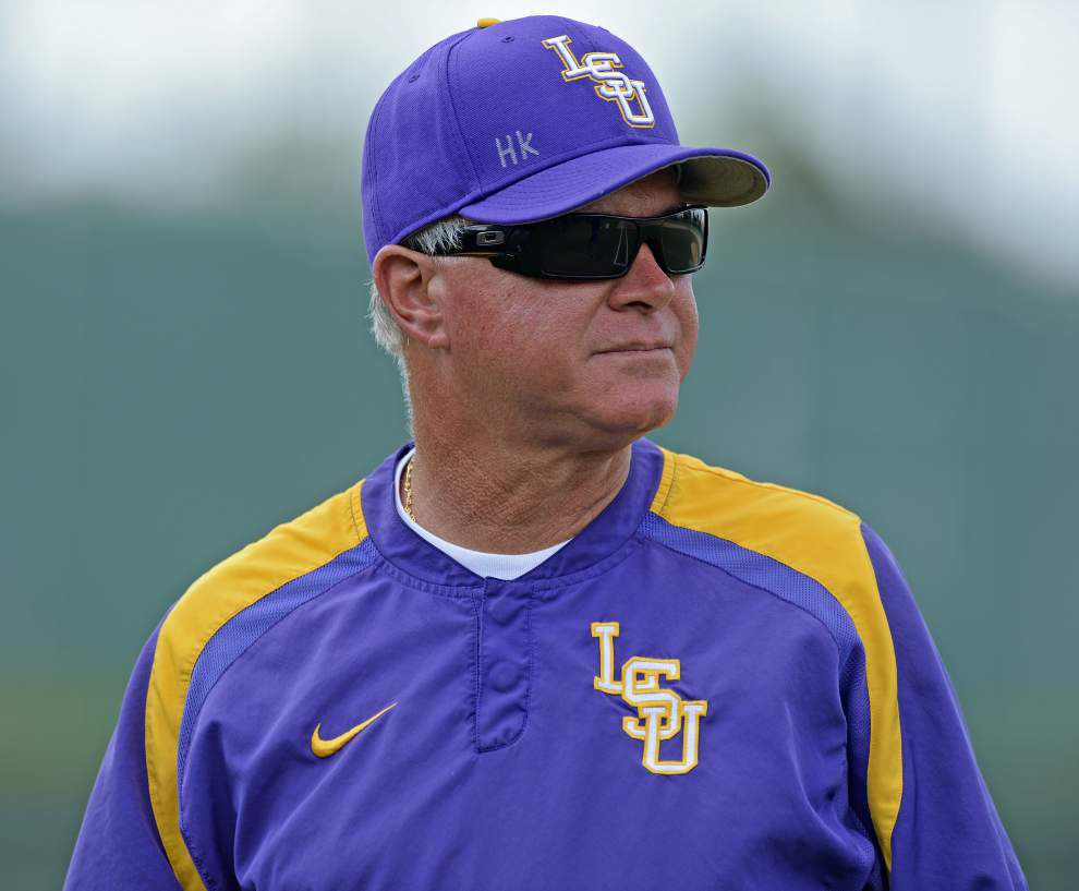 Quick Hits from LSU Baseball Media Day: Paul Mainieri's projected opening night lineup, injury notes _lowres