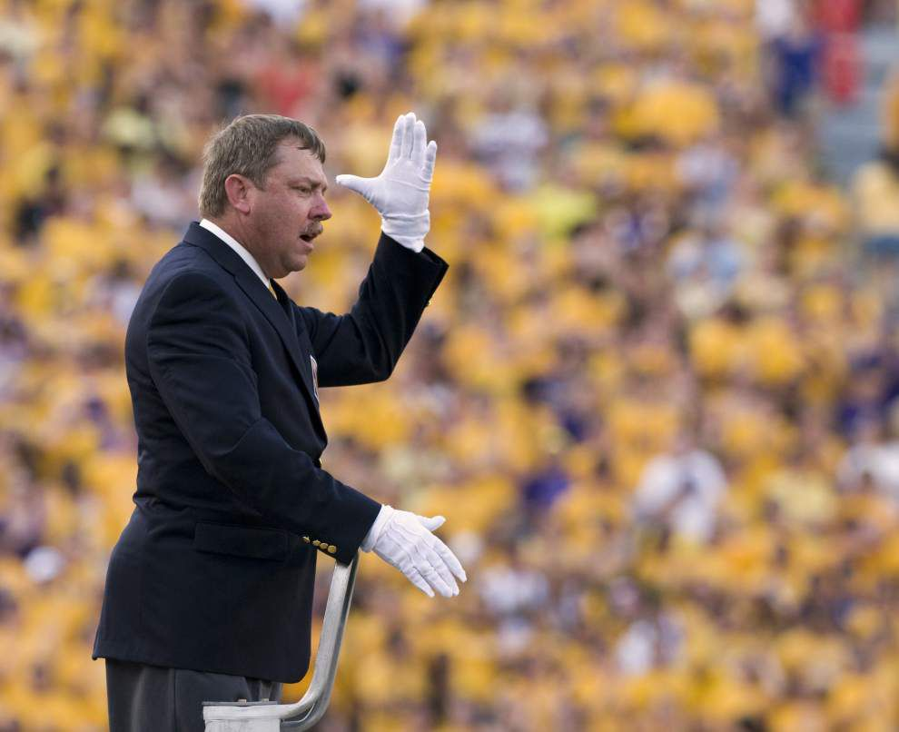 LSU band director Roy King put on administrative leave; attorney alleges a 'witch hunt' over funding _lowres