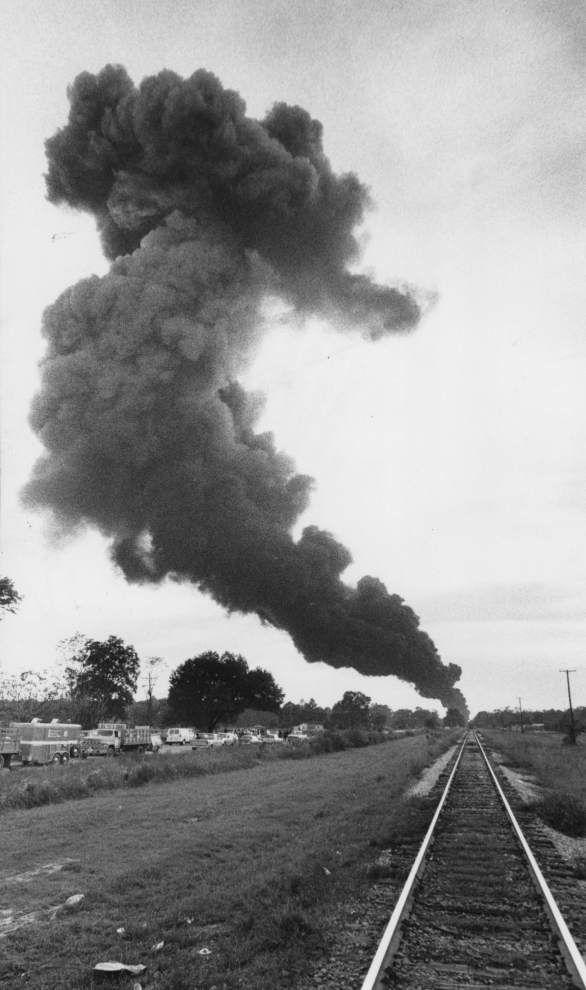 Cleanup following 1982 train derailment in Livingston near an end _lowres