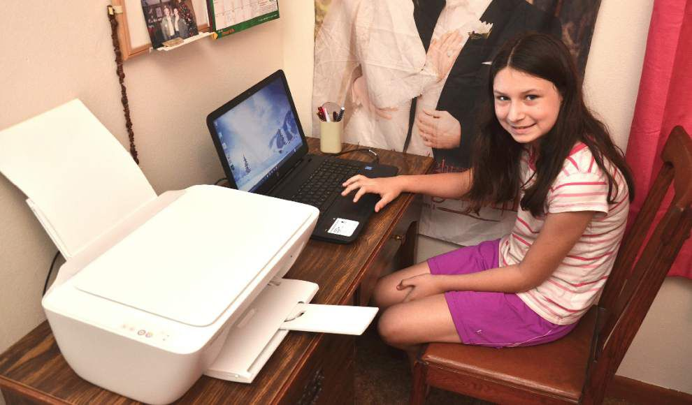 Ed Pratt: How anonymous donor made 10-year-old Baker girl's wish come true _lowres