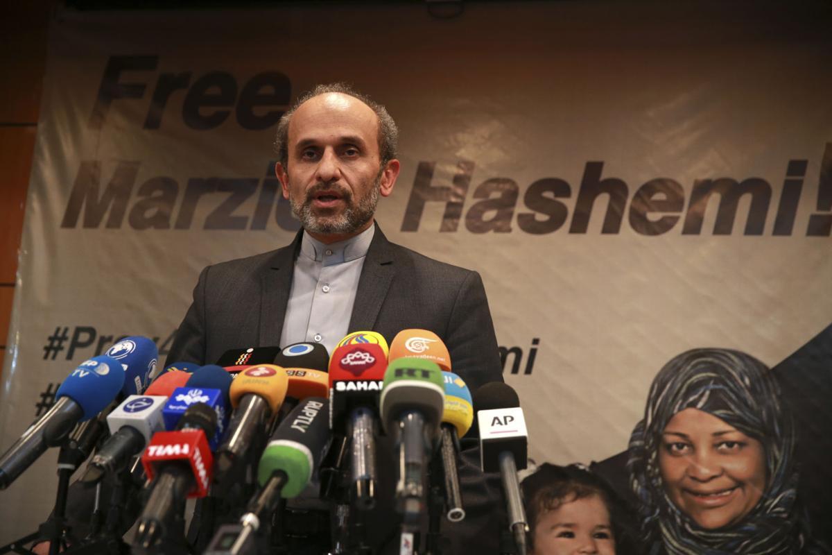 Iran US Journalist Detained