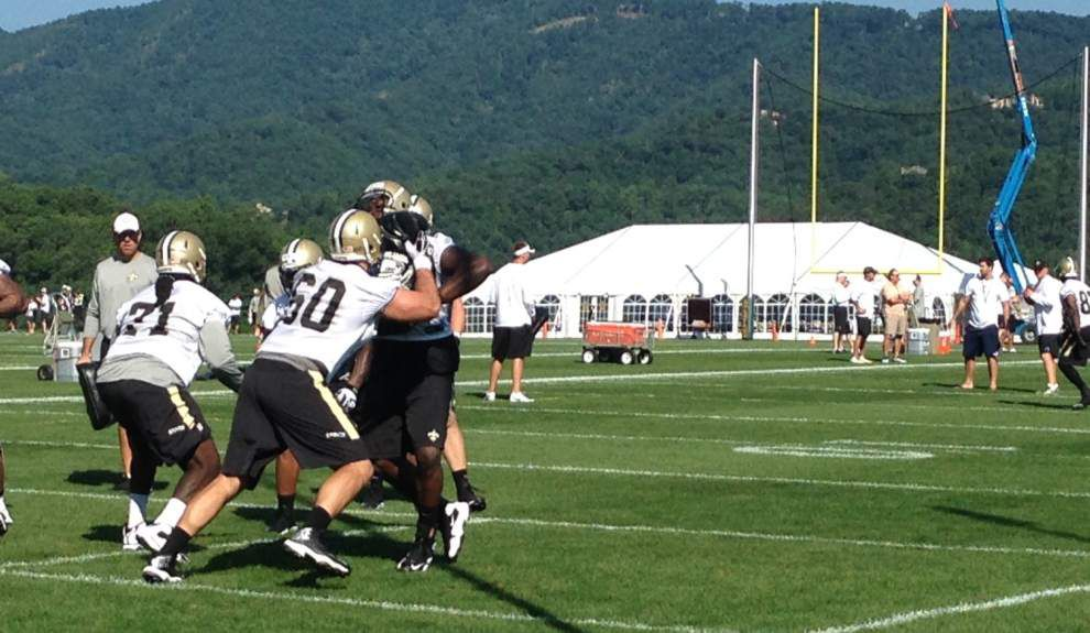 Robinson trends upward after Saturday practice _lowres