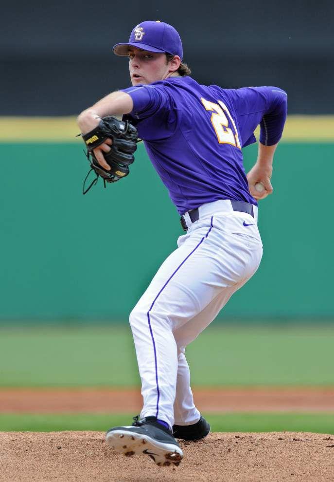 LSU freshman pitchers Doug Norman and Austin Bain key 7-1 win over Grambling _lowres