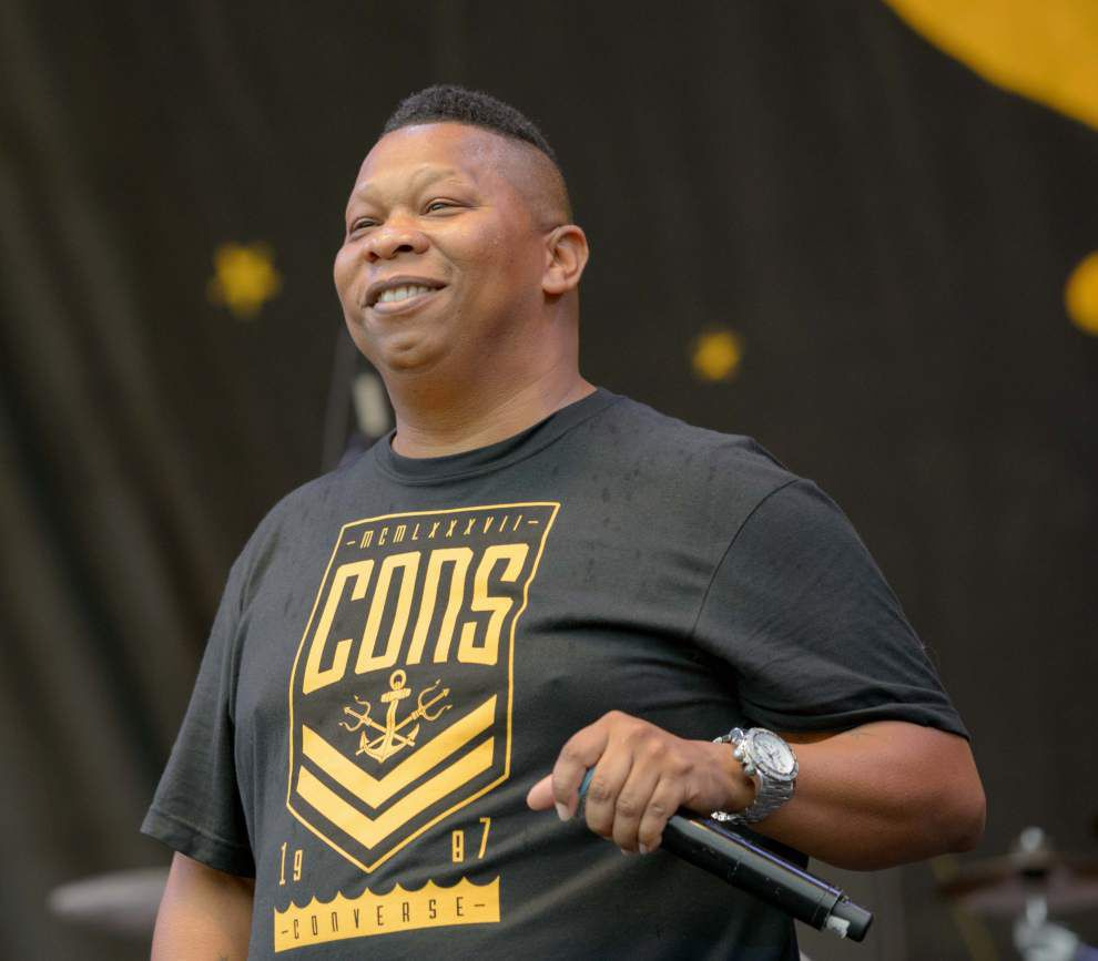 Juvenile, Mannie Fresh bring classic New Orleans hip-hop to Congo Square stage _lowres