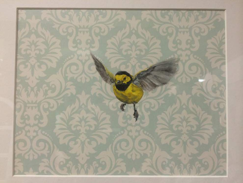 LSU vet school art show features its favorite subject: Animals, what else? _lowres