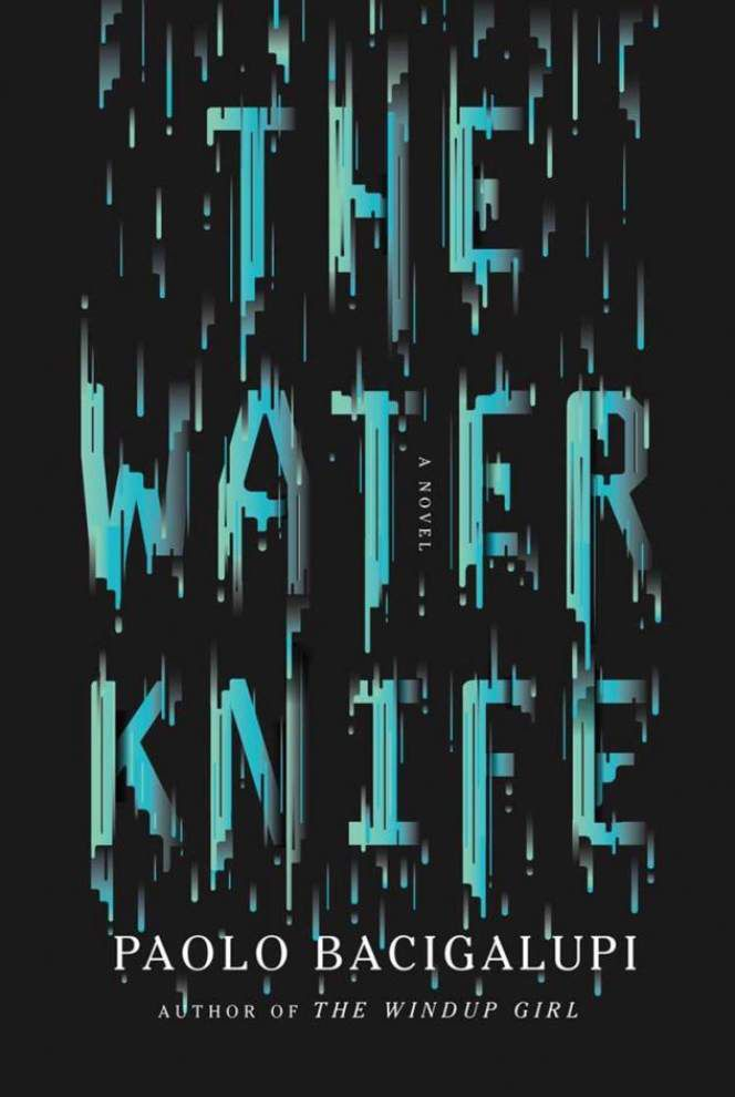 Author's vision of future world hits close to home in 'Knife' novel _lowres
