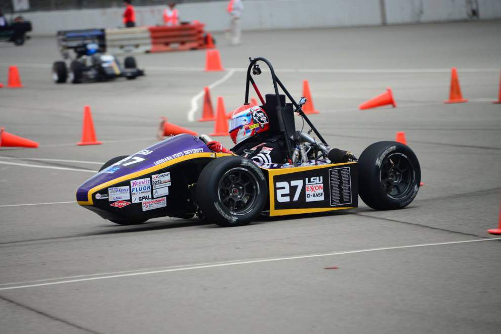 Video update: Ride along with the LSU Tiger Racing as the team pulls off a Top 10 finish in Formula SAE Lincoln event _lowres