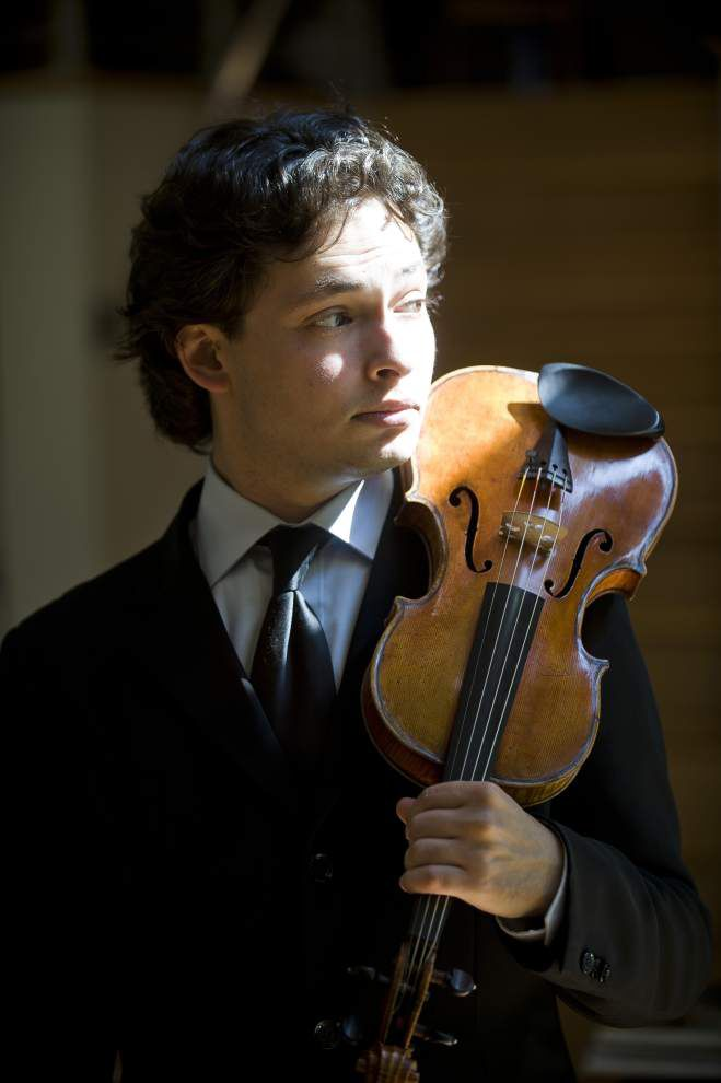Violinist Yevgeny Kutik brings refugee's worldview to BR Symphony _lowres