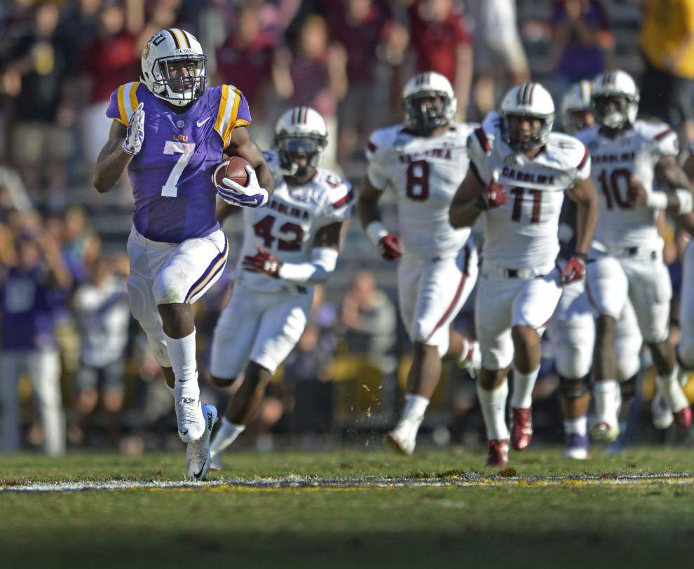 Rabalais: Believe it or not, LSU's crazy football season had plenty to be joyful about _lowres
