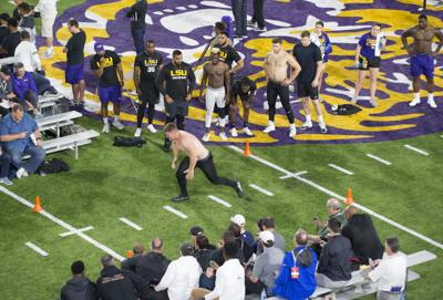 a2e7ca0a Previewing LSU pro day: Who's in? When will they work out? What's their  draft projection?