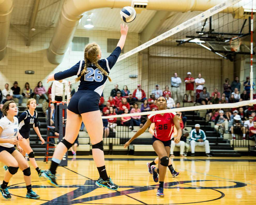 Ascension Episcopal beats Central Catholic, advances to volleyball state quarterfinals _lowres
