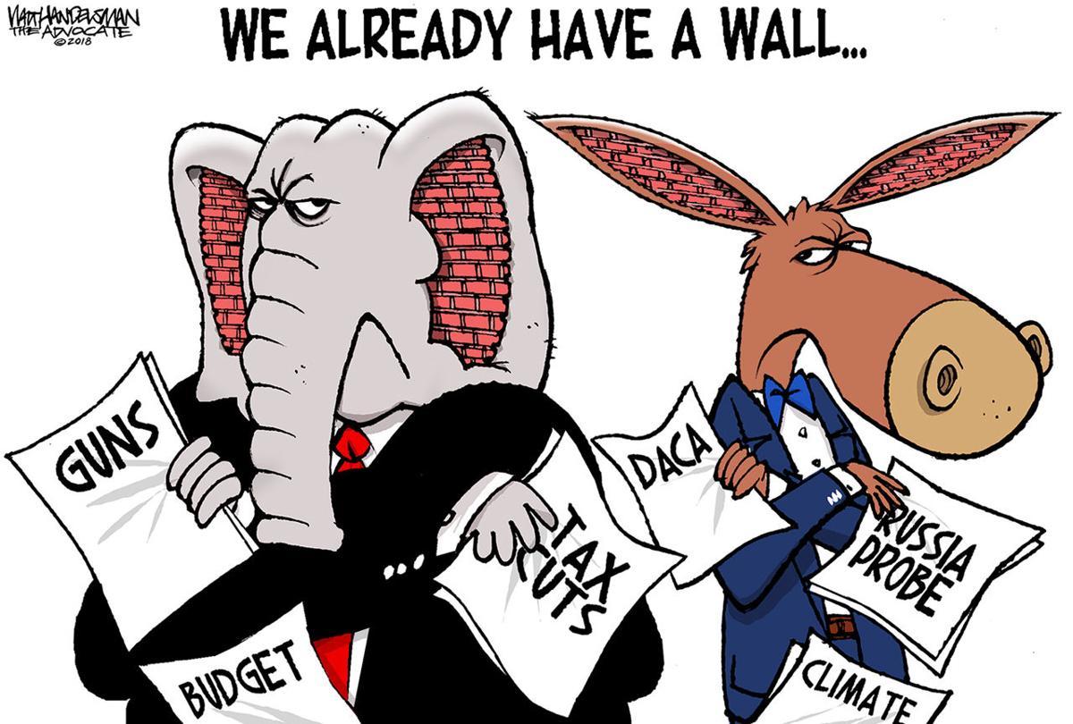 Walt Handelsman: The Wall