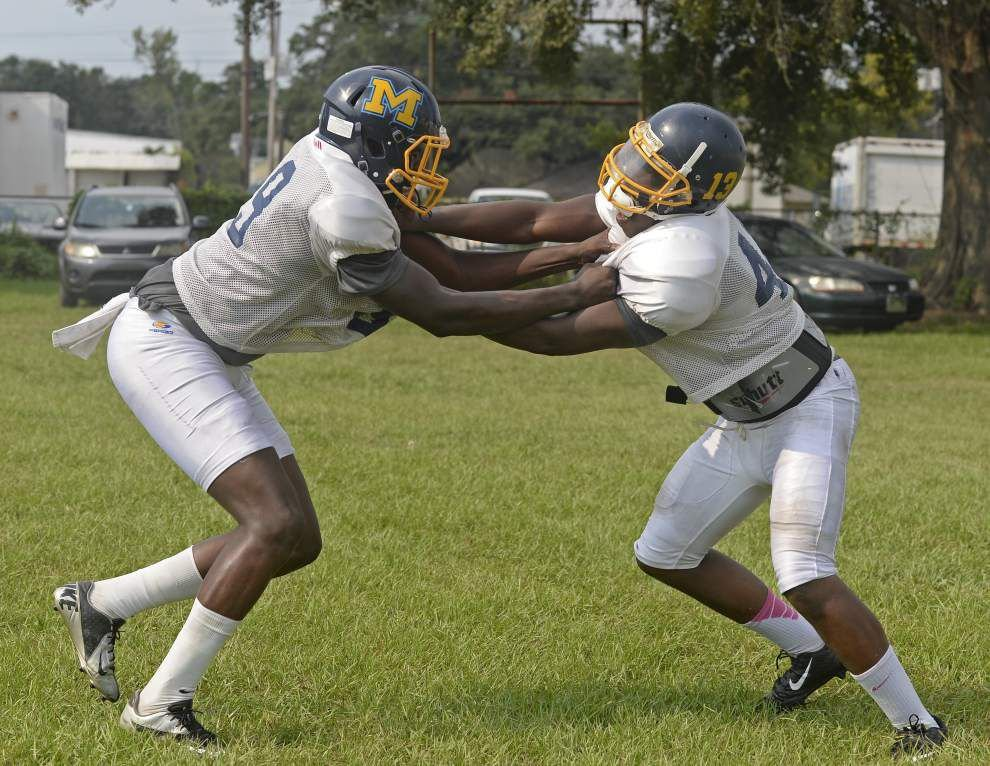 Madison Prep defensive ends Justin Wade and Bryan Jones shine in Livonia win _lowres