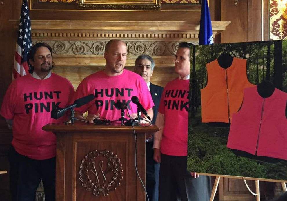 No more hunter orange? Louisiana Legislature considers adding pink alternative for hunters _lowres