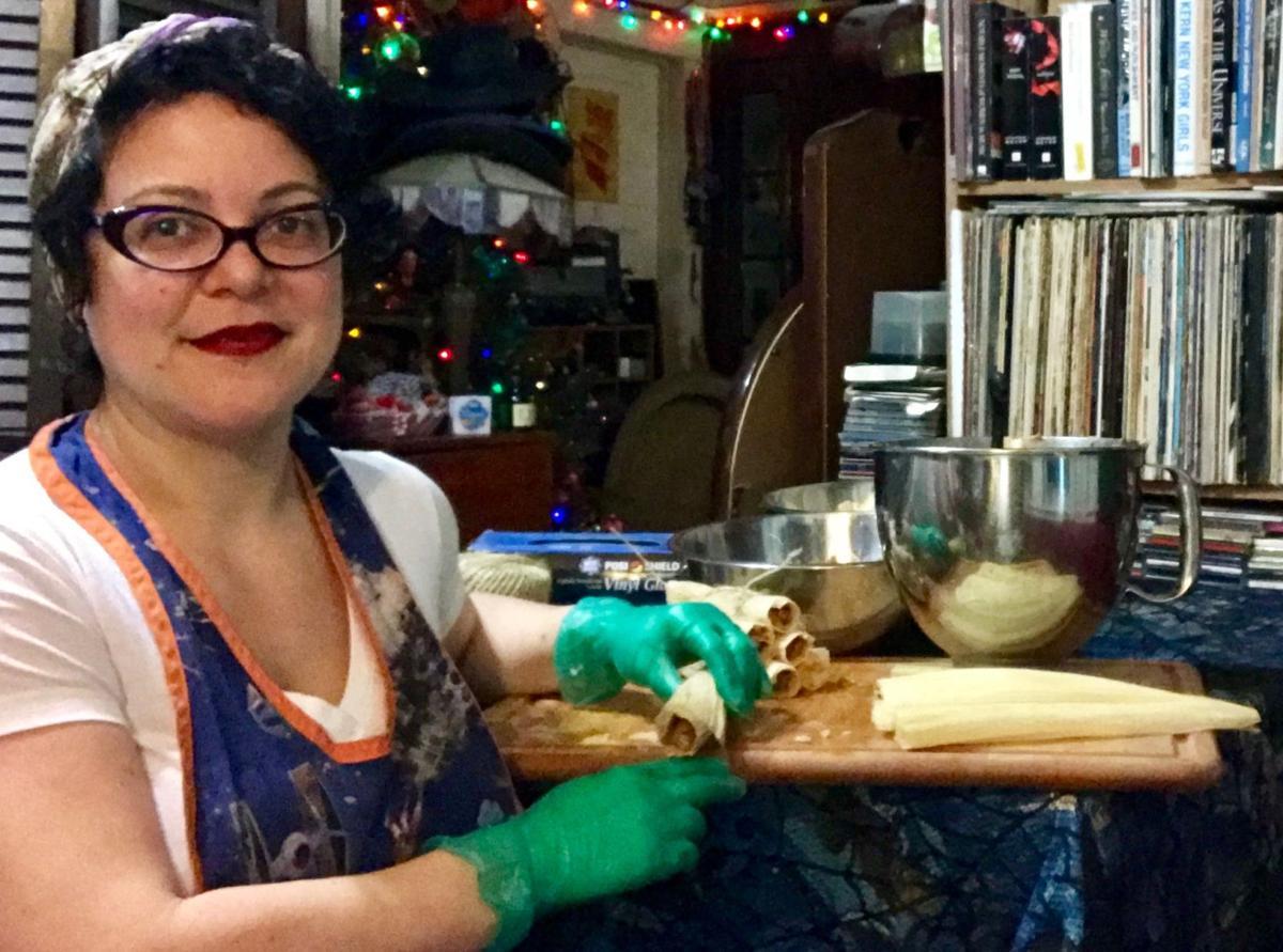 Angela O'Neill Harbold tamale fest