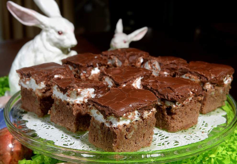 Gourmet Galley: Marshmallow cake is an Easter delight _lowres