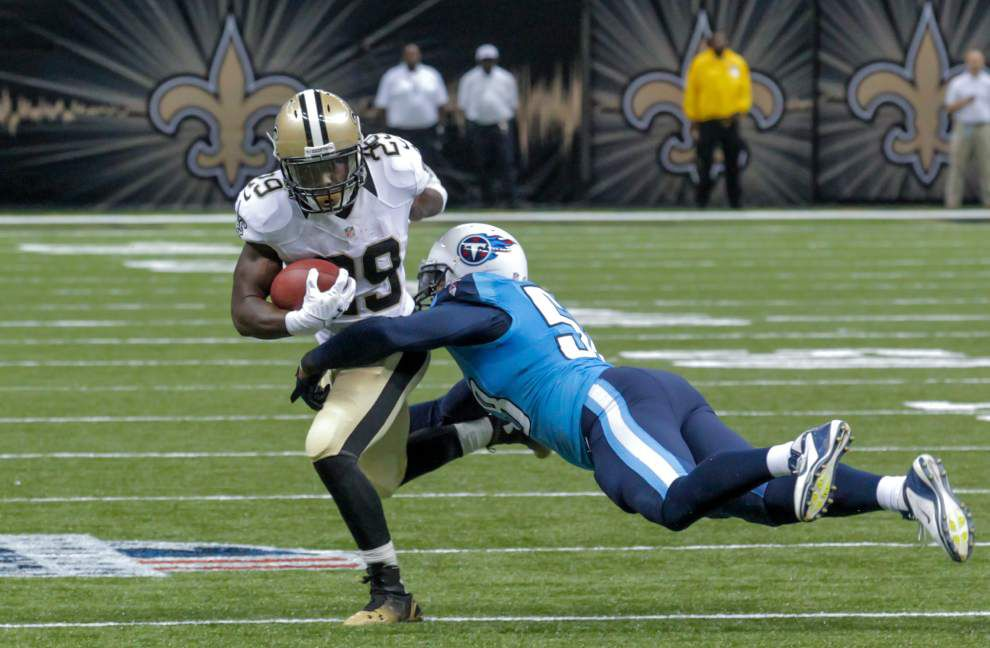 Vargas: The confidence the Saints have expressed in backup Khiry Robinson is not lip service _lowres