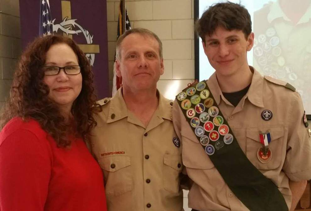 Runnels senior attains Eagle Scout Award _lowres