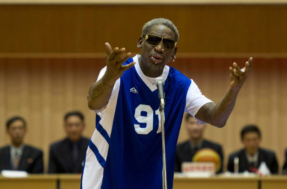 Rodman sings happy birthday to North Korean leader _lowres