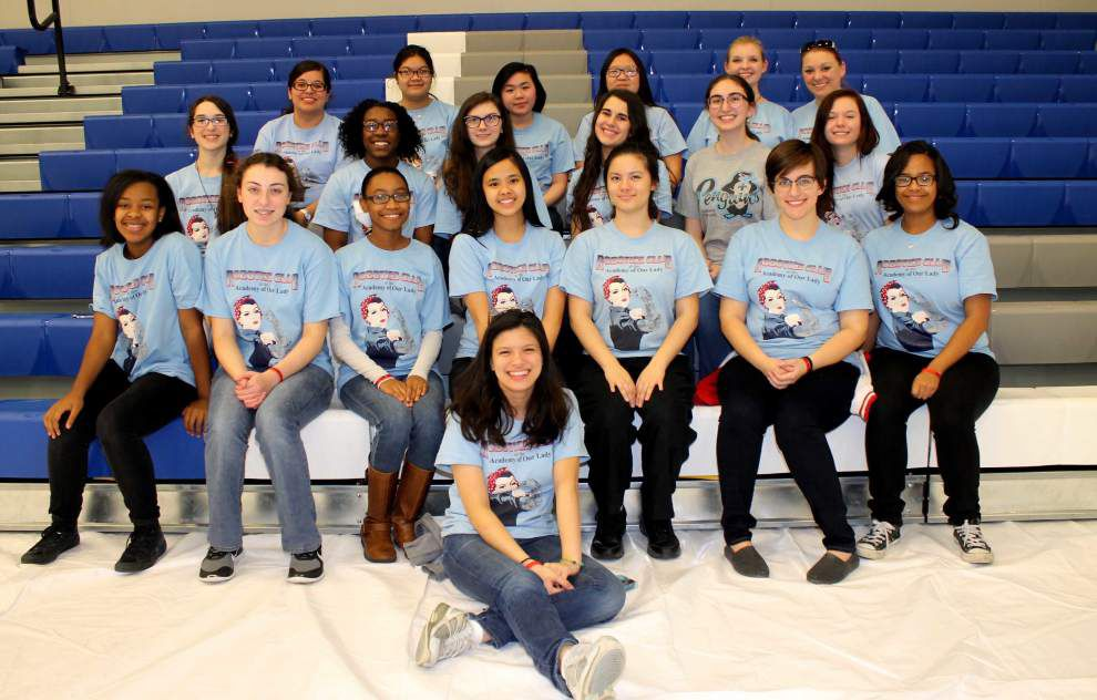 Academy of Our Lady hosts robotics qualifying tournament _lowres