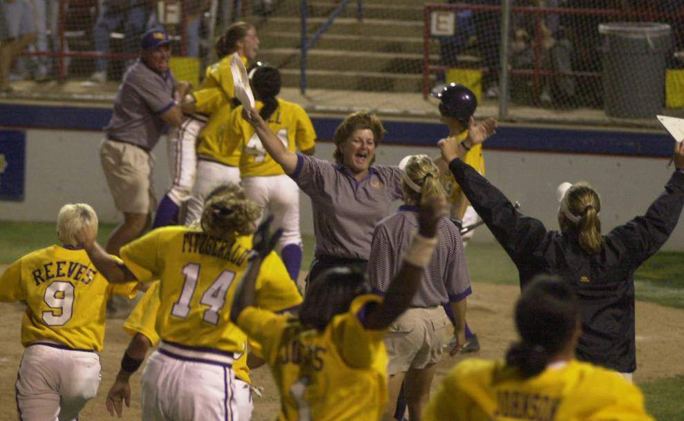 Yvette Girouard is first softball coach to enter Louisiana Sports Hall of Fame ... and she started from scratch _lowres