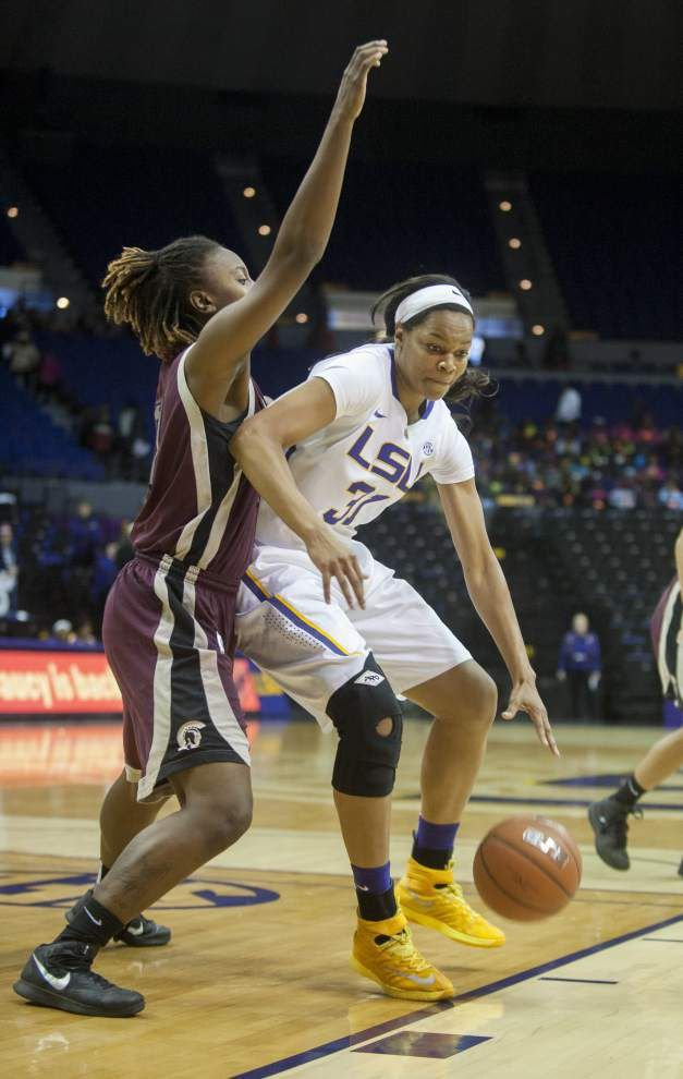 LSU Lady Tigers host experienced Tulane team _lowres
