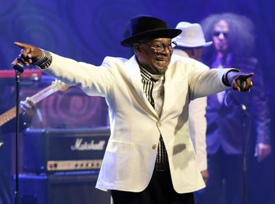 George Clinton in AP, copy for Gambit