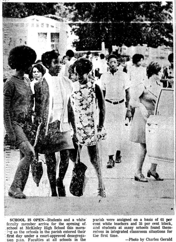 State-Times photo from McKinley High on Aug. 31, 1970