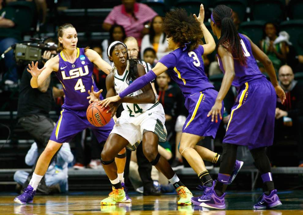 South Florida bounces LSU women from the NCAA tournament 73-64 _lowres