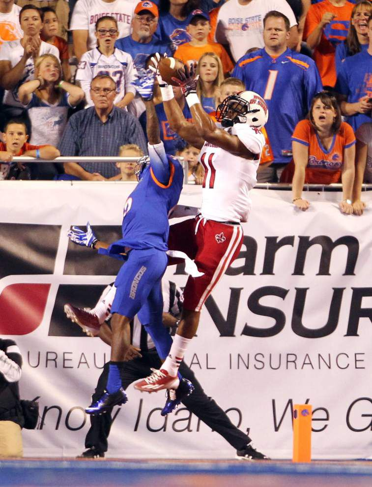 UL-Lafayette receivers step up in Jamal Robinson's absence _lowres