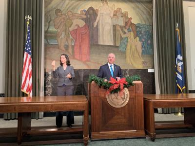 John Bel Edwards year-end press conference
