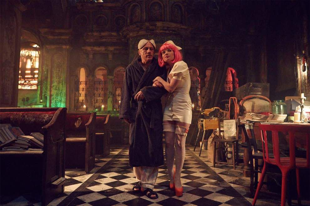 Review: 'The Zero Theorem's' story can't hang on for the wild ride _lowres